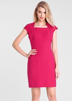 Tahari Ponte Knit Sheath Dress (Petite)