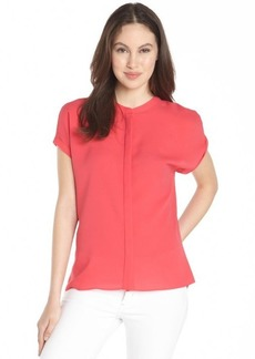 Tahari popsicle 'Anetta' short sleeve blouse