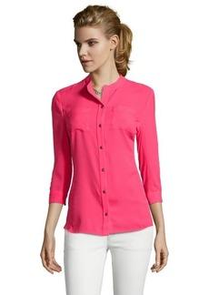Tahari popsicle 'Jamie' three quarter sleeve blouse