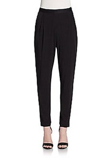 Tahari Presley Pleated Knit Pants