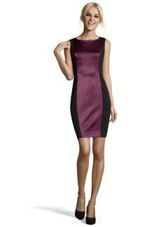 Tahari pretty plum 'Estelle' dress