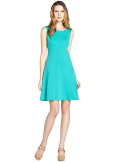 Tahari seafoam green stretch sleeveless 'Penbrook' dress