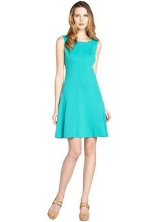 Tahari seafoam green stretch sleeveless 'Penbrook' dress