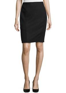 Tahari Side-Panel Pencil Skirt