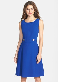 Tahari Sleeveless Fit & Flare Dress (Online Only)