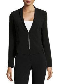Tahari Slim-Lapel Vented-Front Jacket