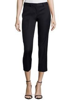 Tahari Straight-Leg Ankle-Crop Pants