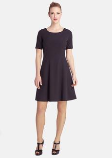 Tahari Stretch Fit & Flare Dress