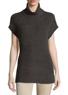 Tahari Suzanne Short-Sleeve Knit Sweater