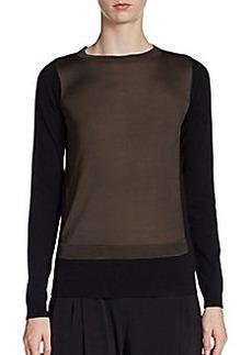 Tahari Zarra Colorblock Pullover