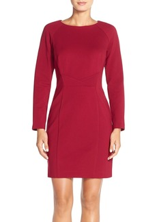 Tahari Ponte Knit Sheath Dress