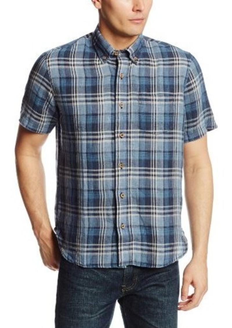 Tailor vintage tailor vintage men 39 s madras short sleeve for Mens madras shirt sale