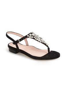 Taryn Rose 'Ibsen' Jeweled Thong Sandal (Women)