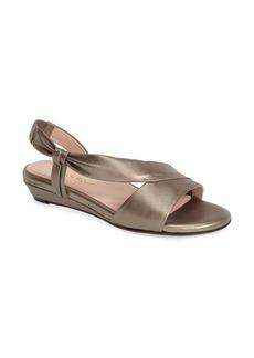Taryn Rose 'Ion' Leather Sandal (Women)