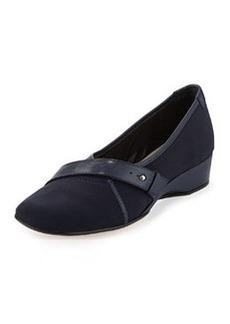 Taryn Rose Kourva Stretch Slip-On, Navy Blue