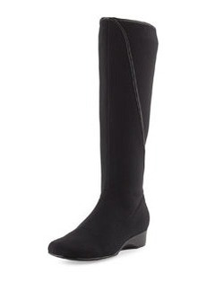 Taryn Rose Kyana Stretch Pull-On Boot, Black