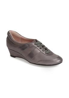 Taryn Rose 'Parisa' Leather Wedge Sneaker (Women)