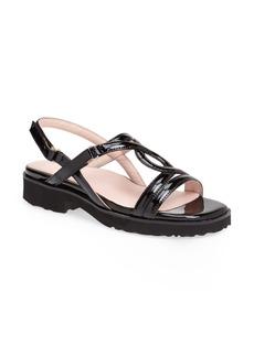 Taryn Rose 'Tabatha' Leather Sandal (Women)