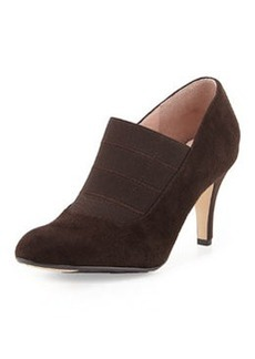 Taryn Rose Tacoma Suede Pump, Chocolate