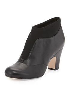 Taryn Rose Tavie Stretch-Inset Ankle Boot
