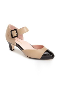 Taryn Rose 'Toody Leather d'Orsay' Pump (Women)