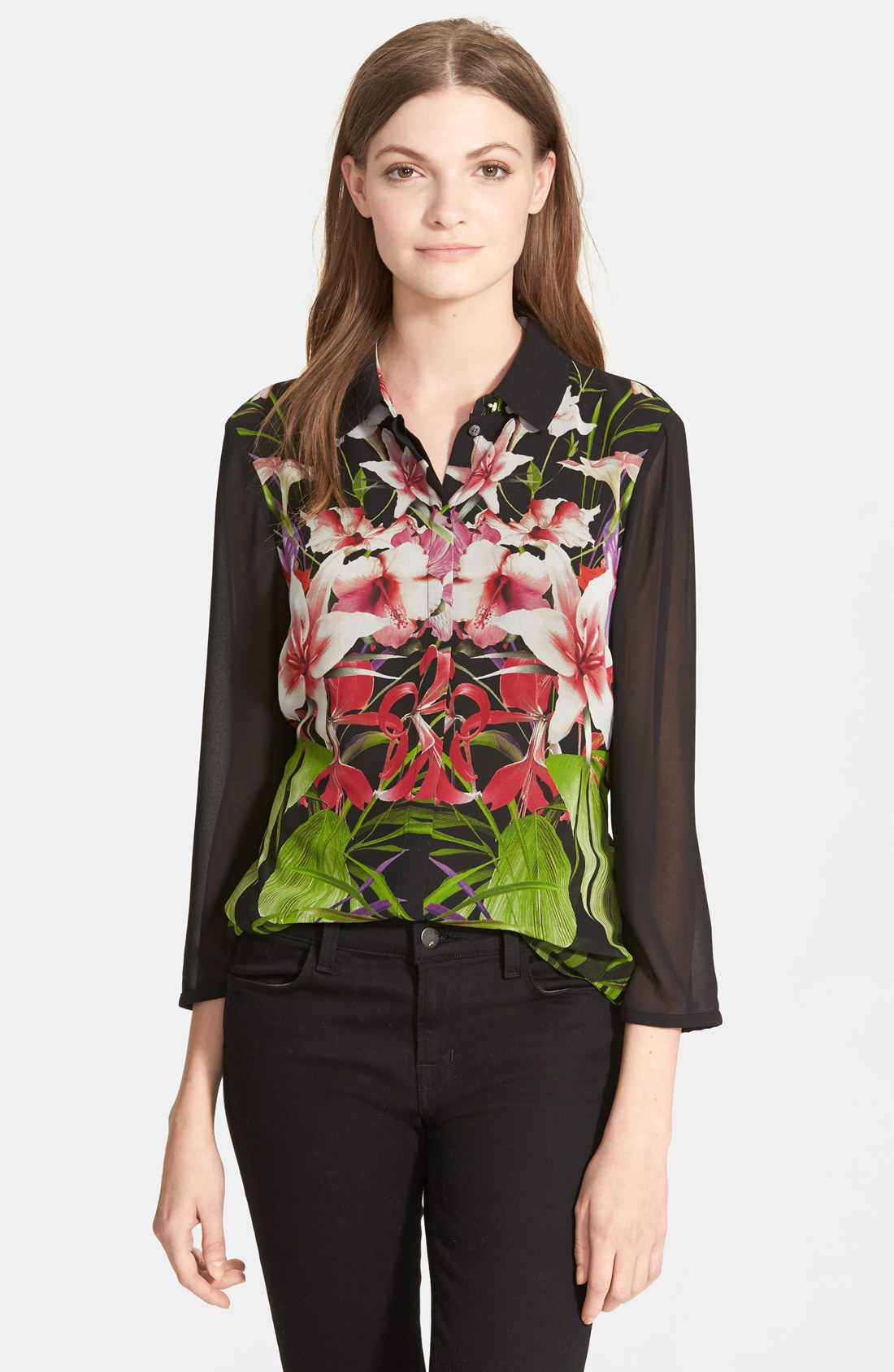 Ted Baker London сумка : Ted baker london marias mirrored tropics top it