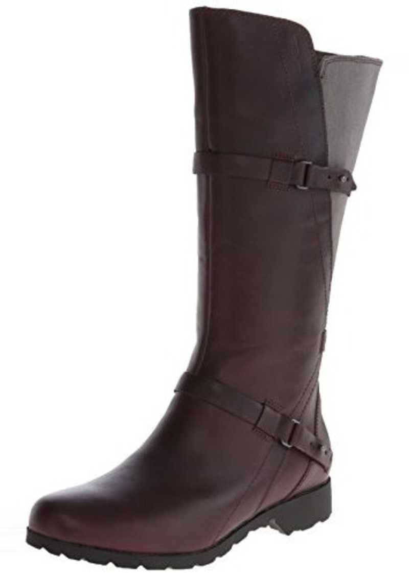 Leather fashion riding boots womens 3