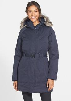The North Face 'Brooklyn' Faux Fur Trim Jacket