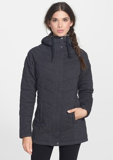 The North Face 'Miss Kit' Hooded Full Zip Fleece Sweatshirt