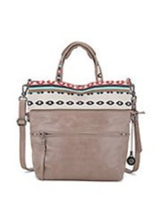 THE SAK Brea Convertible Leather Tote