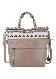 The Sak Brea Convertible Tote Cross Body Bag