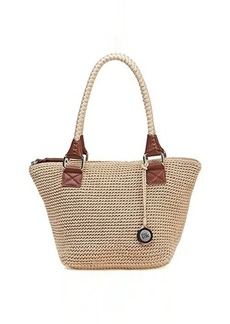 The Sak Cambria Medium Satchel Top Handle Bag, Bamboo, One Size