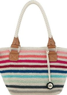 The Sak Cambria Medium Satchel Top Handle Bag, Prism Stripe, One Size