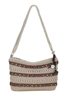 The Sak Casual Classic 3 In 1 Clutch Cross Body Bag, Eggshell Ribbon, One Size
