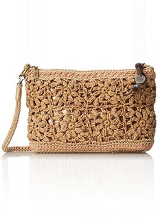 The Sak Casual Classics 3 In 1 Clutch Shoulder Bag, Natural Flower, One Size