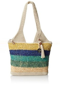 The Sak Casual Classics Large Tote Shoulder Bag, Multi Raffia, One Size