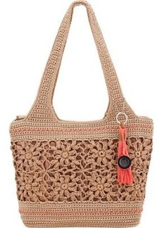 The Sak Casual Classics Large Tote Shoulder Bag, Natural Flower, One Size