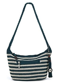 The Sak Casual Classics Small Hobo Shoulder Bag, Vintage/Eggshell Stripe, One Size