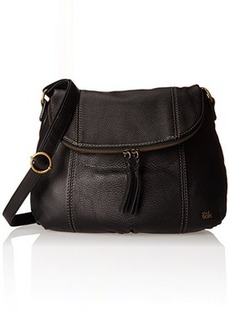 The Sak Deena Hobo Saddle Cross Body, Black, One Size