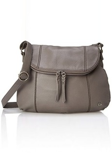 The Sak Deena Hobo Saddle Cross Body, Charcoal, One Size