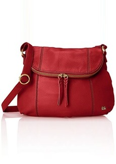 The Sak Deena Hobo Saddle Cross Body, Cherry, One Size