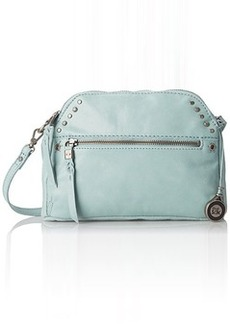 The Sak Dorado Double Zip Cross Body Bag, Cool Water, One Size