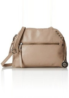 The Sak Dorado Double Zip Cross Body Bag, Shiitake, One Size