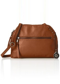 The Sak Dorado Double Zip Cross Body Bag, Tobacco, One Size