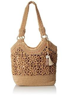 The Sak Ellis Tote Shoulder Bag, Natural Flower, One Size