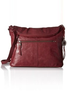 The Sak Esperato Flap Hobo Convertible Cross Body Bag, Cabernet, One Size