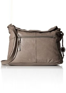 The Sak Esperato Flap Hobo Convertible Cross Body Bag, Charcoal, One Size