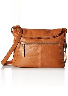 The Sak Esperato Flap Hobo Convertible Cross Body Bag, Tobacco, One Size