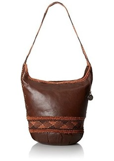 The SAK Heritage Bucket Shoulder Bag, Walnut, One Size