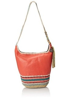 The Sak Heritage Bucket Shoulder Bag, Cayenne, One Size
